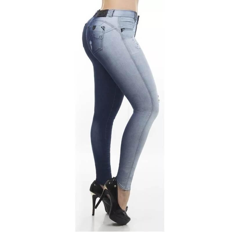 Calça PitBull Jeans Feminina com Bojo Regulavél Pit Bull 25579
