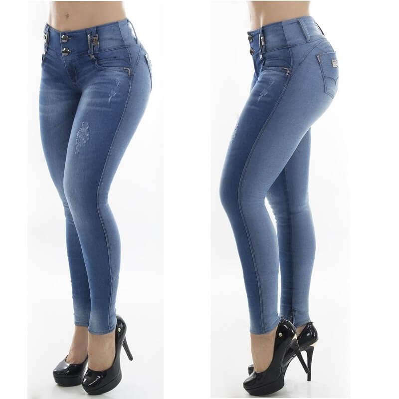 Calça PitBull Jeans Feminina  com Bojo Regulavél Pit Bull 25875