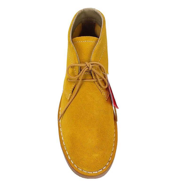 Sapato Botinha Masculino Kildare BK 1404 Couro Camurça