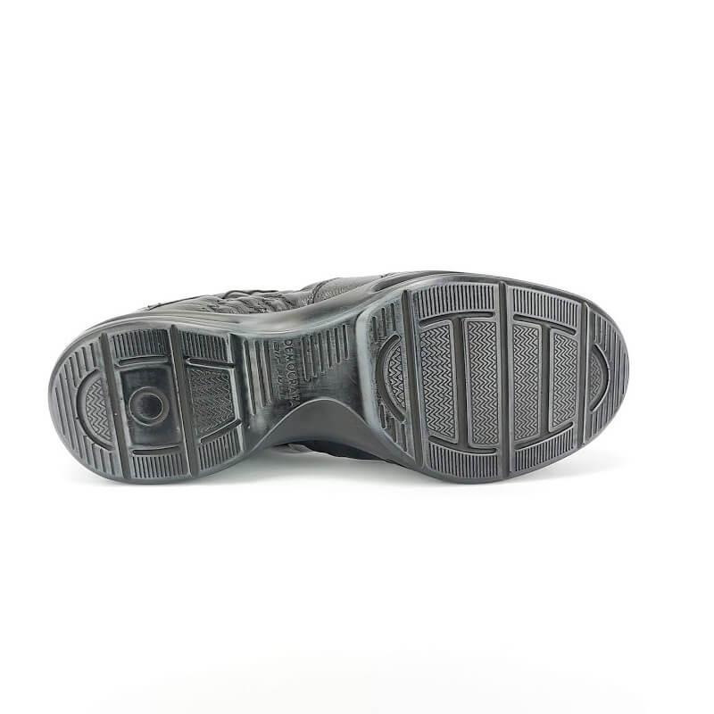 Sapato Masculino Democrata Air Sport 114106 Couro Natural