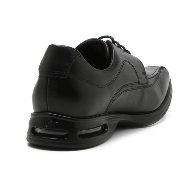 Sapato Masculino Democrata Air Sport 448026 Couro Natural