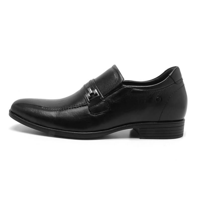 Sapato Masculino Democrata Taller Alpha Flex 191101 Você 6 Cm Mais Alto