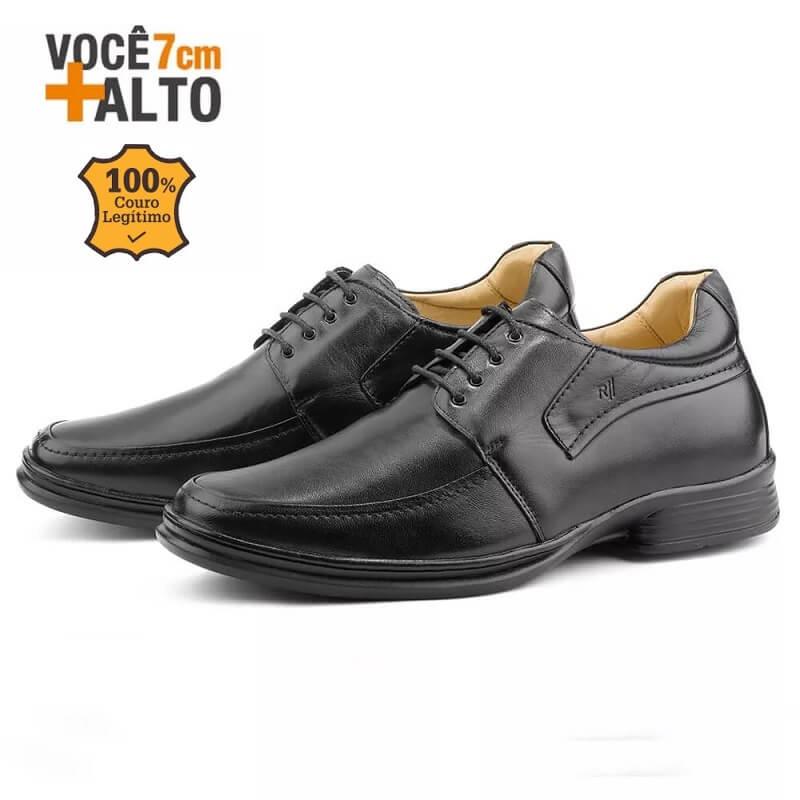 Sapato Masculino Rafarillo Alth 9305 Você 7 Cm Mais Alto