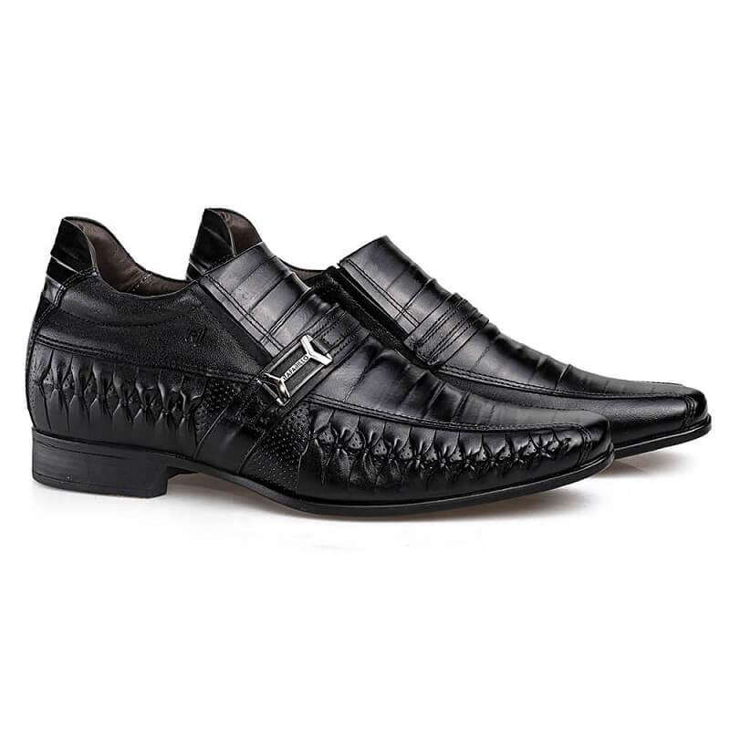Sapato Masculino Rafarillo Vegas Alth 3261 Você 7 Cm Mais Alto