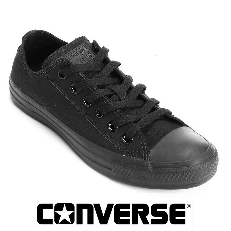 Tenis All Star Converse Monochrome Low Chuck Taylor