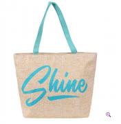 Bolsa Sacola Feminina Estampada Com Alça Dupla - Shine