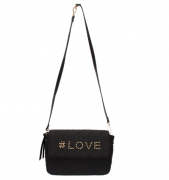 CROSSBODY WJ MEDIA NYLON MATELASSE LOVE
