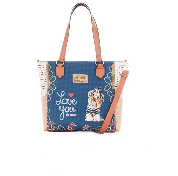 BOLSA RAFITTHY BE FOREVER YORK NAVY LOVE 31.01101A_2