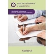 Actividades auxiliares en floristería. AGAJ0108 Guía para el docente y solucionarios