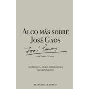 Algo más sobre José Gaos