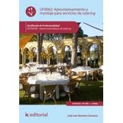 Aprovisionamiento y montaje para servicios de catering. HOTR0308 - Operaciones básicas de catering