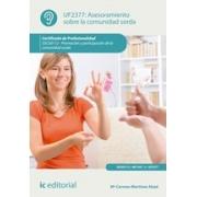 Asesoramiento sobre la comunidad sorda. SSCG0112 - Promoción y participación de la comunidad sorda