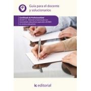 Atención al alumnado con necesidades educativas especiales (ACNEE) en centros educativos. SSCE0112 Guía para el docente y solucionarios
