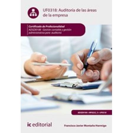 Auditoría de las áreas de la empresa. ADGD0108 - Gestión contable y gestión administrativa para auditorías