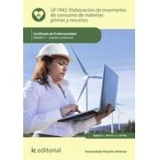 Elaboración de inventarios de consumo de materias primas y recursos. SEAG0211 - Gestión ambiental