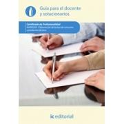 Elaboración de leches de consumo y productos lácteos. INAE0209 - Guía para el docente y solucionarios