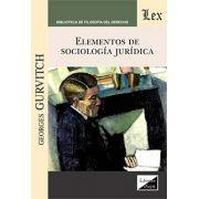 Elementos de sociología jurídica