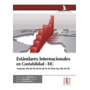 Estándares internacionales en contabilidad - ECI