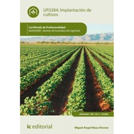 Implantación de cultivos. AGAU0208 - Gestión de la producción agrícola