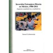 Inversión extranjera directa en México, 1980-2011