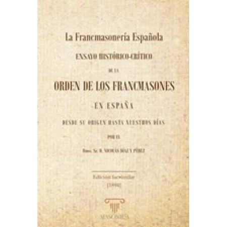 La Francmasonería Española