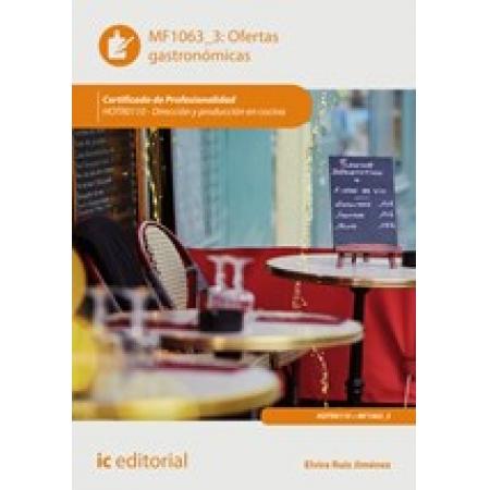 Ofertas gastronómicas. HOTR0110 - Dirección y producción en cocina