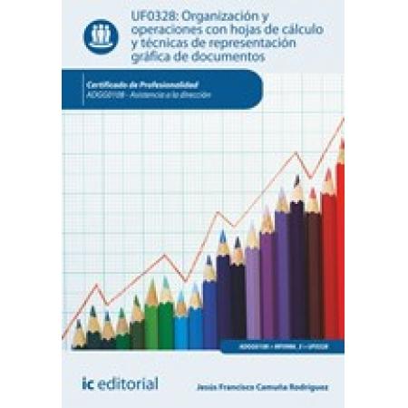 Organización y operaciones con hojas de cálculo y técnicas de representación gráfica de documentos. ADGG0108 - Asistencia a la dirección