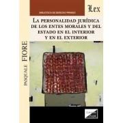 Personalidad jurídica de los entes morales y