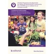 Programas de adquisición de hábitos de alimentación y autonomía de un ACNEE que se realizan en un comedor escolar. SSCE0112 - Atención al alumnado con necesidades educativas especiales
