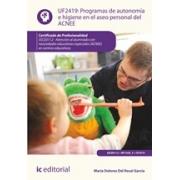 Programas de autonomía e higiene en el aseo personal del ACNEE. SSCE0112 - Atención al alumnado con necesidades educativas especiales (ACNEE) en centros educativos