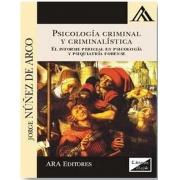 Psicología criminal y criminalística. el informe pericial psicología y psiquiatría forense