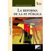 Reforma de la fe pública