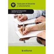 Reprografía. ARGI0309 Guía para el docente y solucionarios