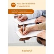 Trabajos de carpintería y mueble. MAMA0209 Guía para el docente y solucionarios
