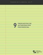 9 propuestas de intervención psicosocial