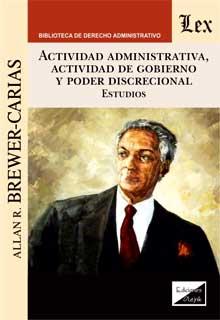 Actividad administrativa, actividad de gobierno