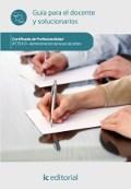 ADMINISTRACIÓN DE BASES DE DATOS. IFCT0310 Guía para el docente y solucionarios