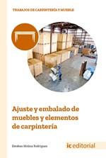 Ajuste y embalado de muebles y elementos de carpintería
