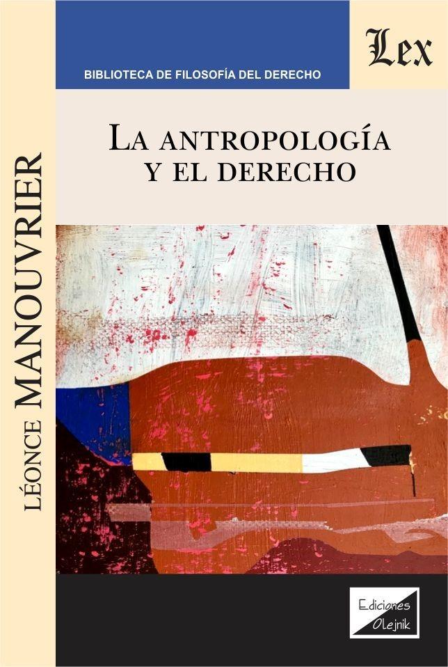 Antropología y el derecho, La