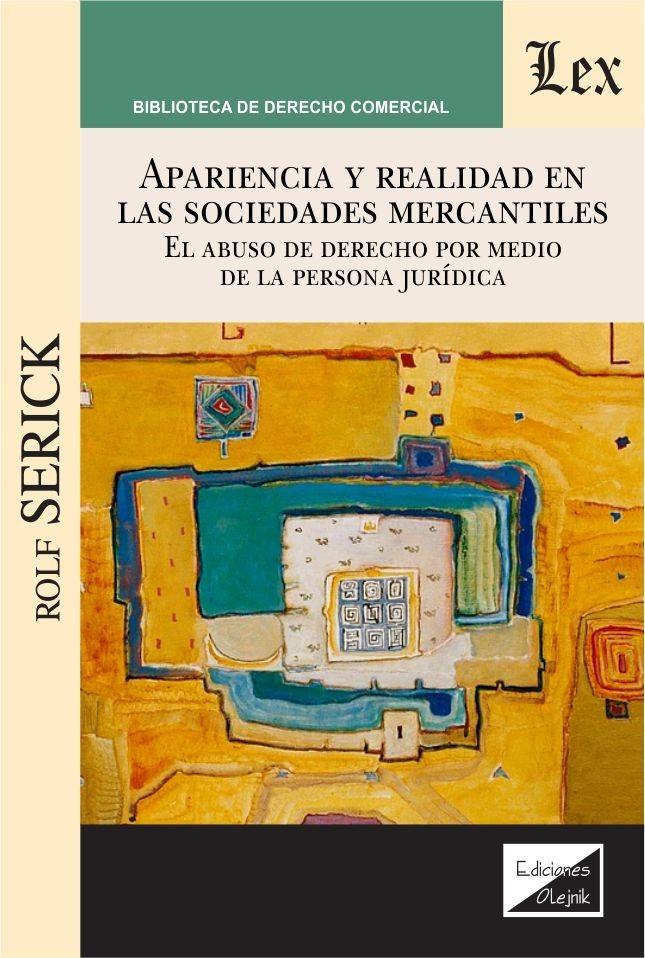 Apariencia y realidad en las sociedades mercantiles