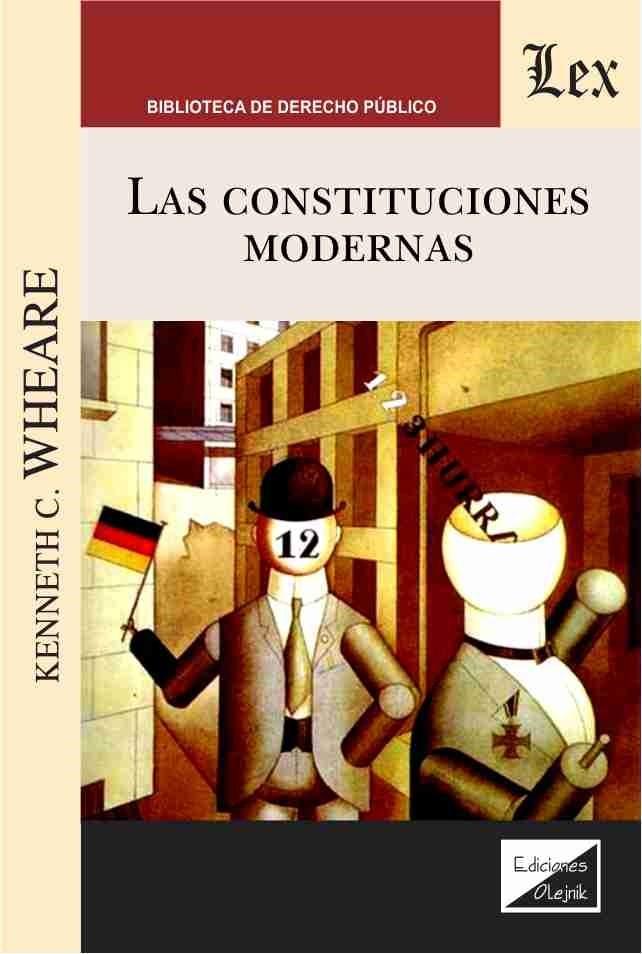 Constituciones modernas, las