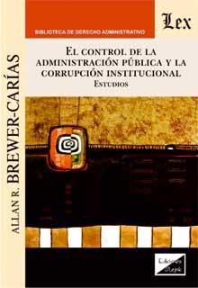 Control de la administración pública y la