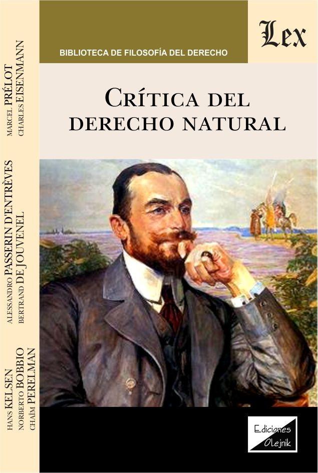 Crítica del derecho natural