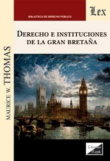Derecho de insttuciones de la Gran Bretaña