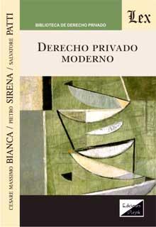 Derecho privado moderno