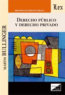 Derecho público y derecho privado