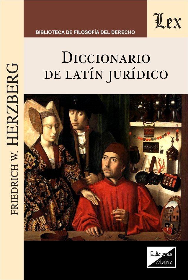 Diccionario de latín jurídico