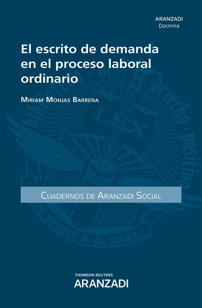 El escrito de demanda en el proceso laboral ordinario