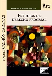 Estudios de derecho procesal