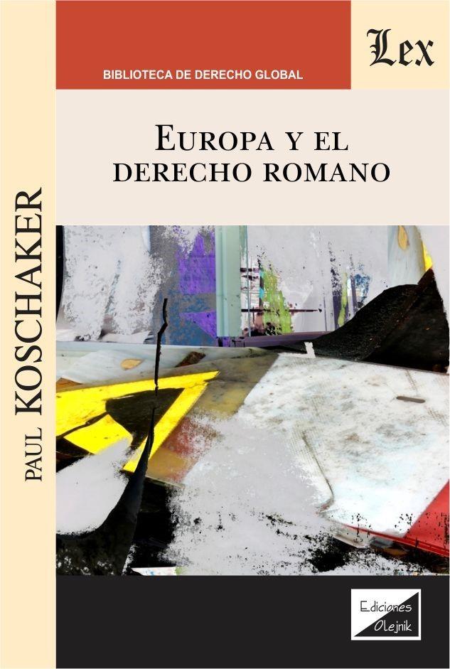 Europa y el derecho romano